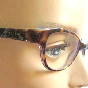 Ladies Tort Brown Helium Paris Glass Frames Med